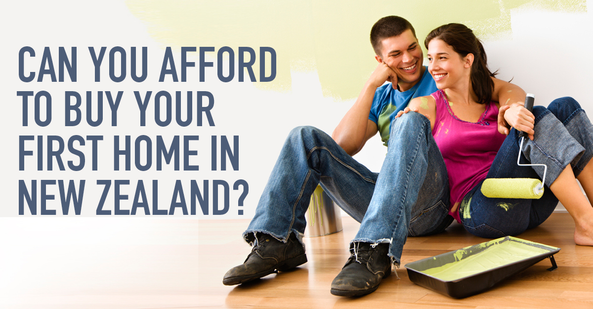 Can you afford to buy your first home in New Zealand?