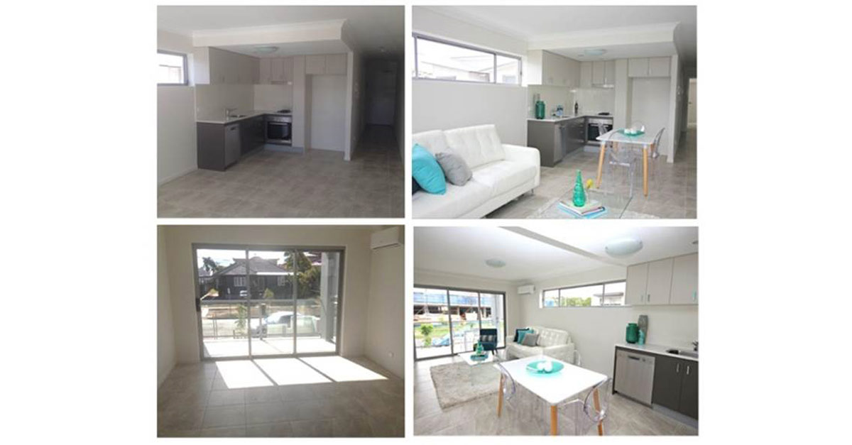 before and after staging for sale. The benefits are clear!
